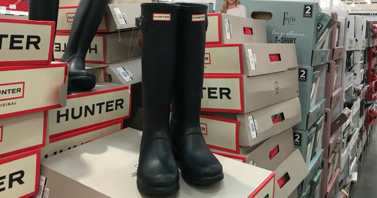 779a433ef57 Hunter Women's Original Tall Rain Boots Just $89.99 at Costco - Hip2Save