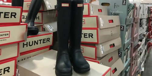 Hunter Women's Original Tall Rain Boots Just $89.99 at Costco