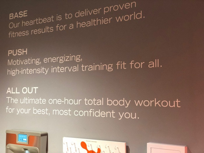 orangetheory fitness review – affirmation wall