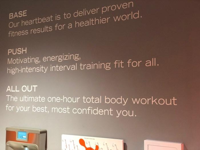 orangetheory fitness review – affirmation wall