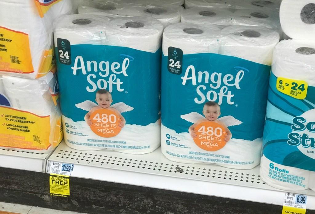 Rite Aid Angel Soft Bath Tissue