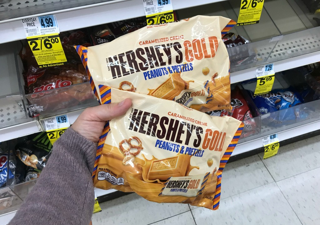 Rite Aid Hershey's Gold Miniatures