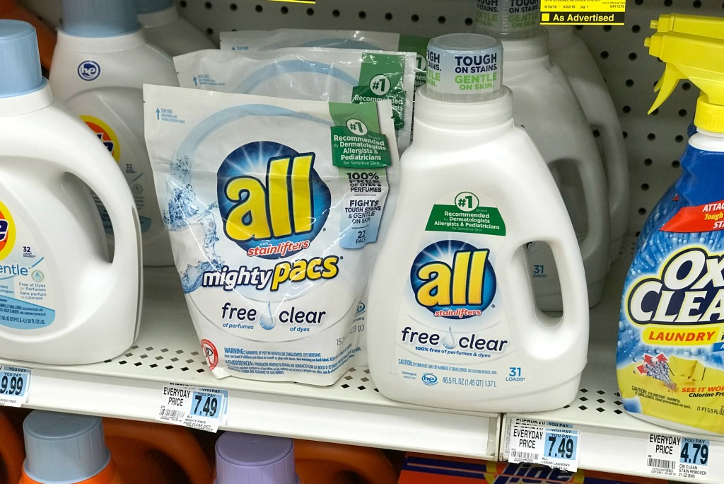 Rite Aid All Laundry Detergent