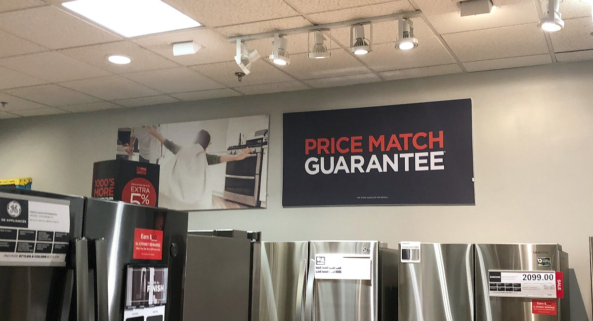 The best ways to shop and save with these jcpenney shopping tips — price match guarantee sign