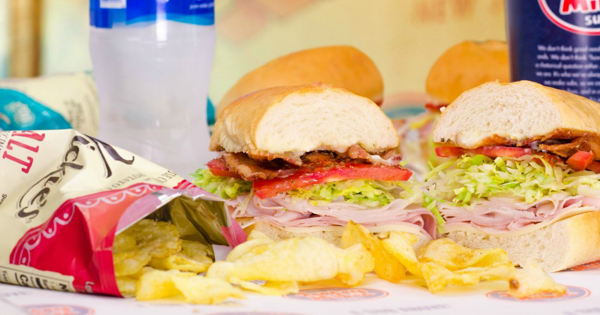 image relating to Jersey Mike's Printable Coupon named $2 Off ANY Regular monthly Jersey Mikes Sub - Hip2Preserve