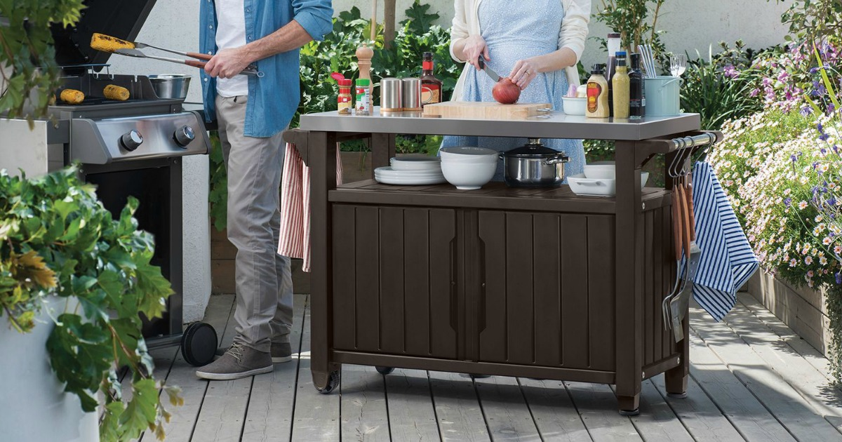 Keter Outdoor Entertainment Station Possibly Only 99 91 At Sam S Club Regularly 150 Hip2save