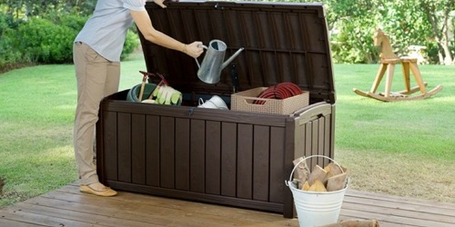 101-Gallon Deck Storage Container Box Just $69.74 Shipped (Regularly $130)