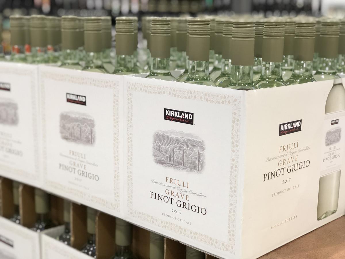 name brands sometimes make costco items, like Kirkland Signature's wine