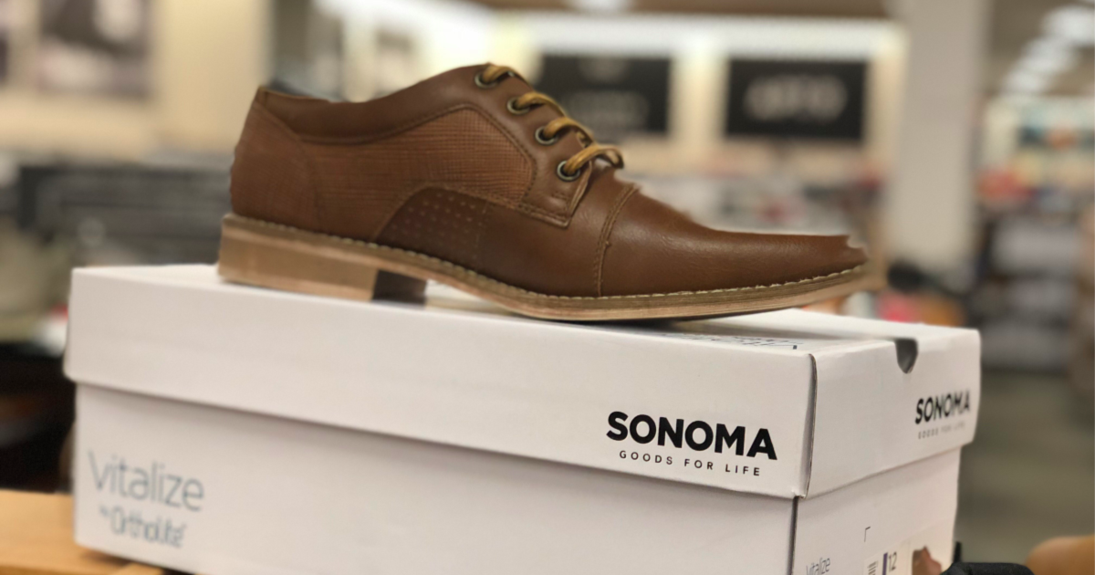 Men's Oxford Shoes Only $16.09 Shipped