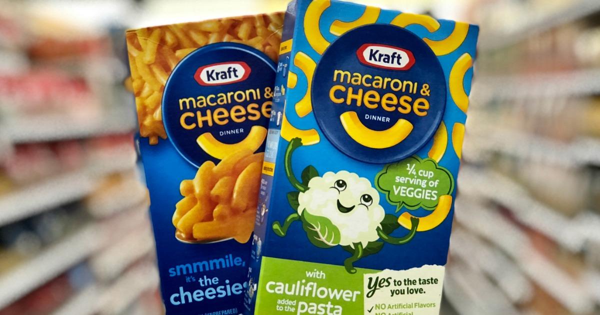 Kraft Mac & Cheese as Low as 78¢ at Target