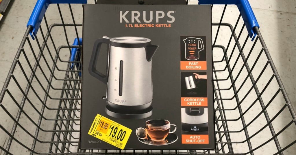Krups Electric Kettle Possibly Only 19 At Walmart