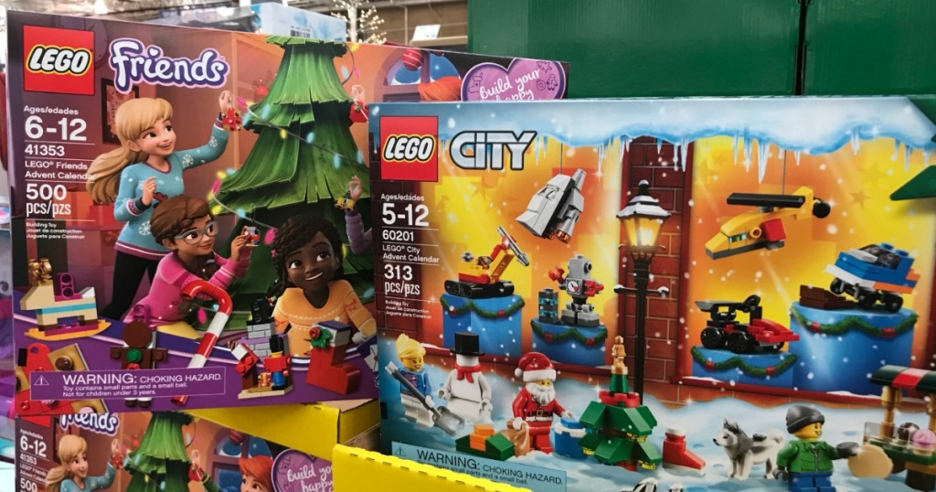 Lego Advent Calendars Only 22 99 At Costco Hip2save