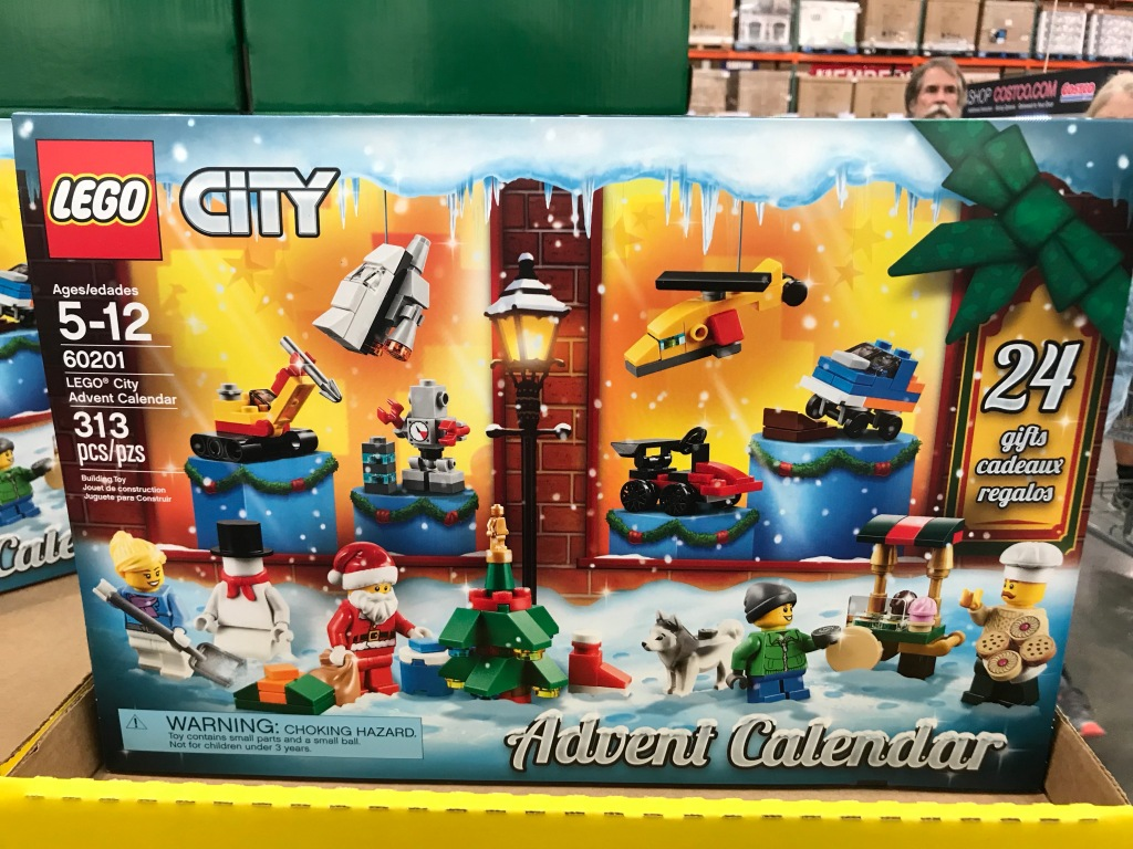 lego advent calendars only at costco hip2save. Black Bedroom Furniture Sets. Home Design Ideas