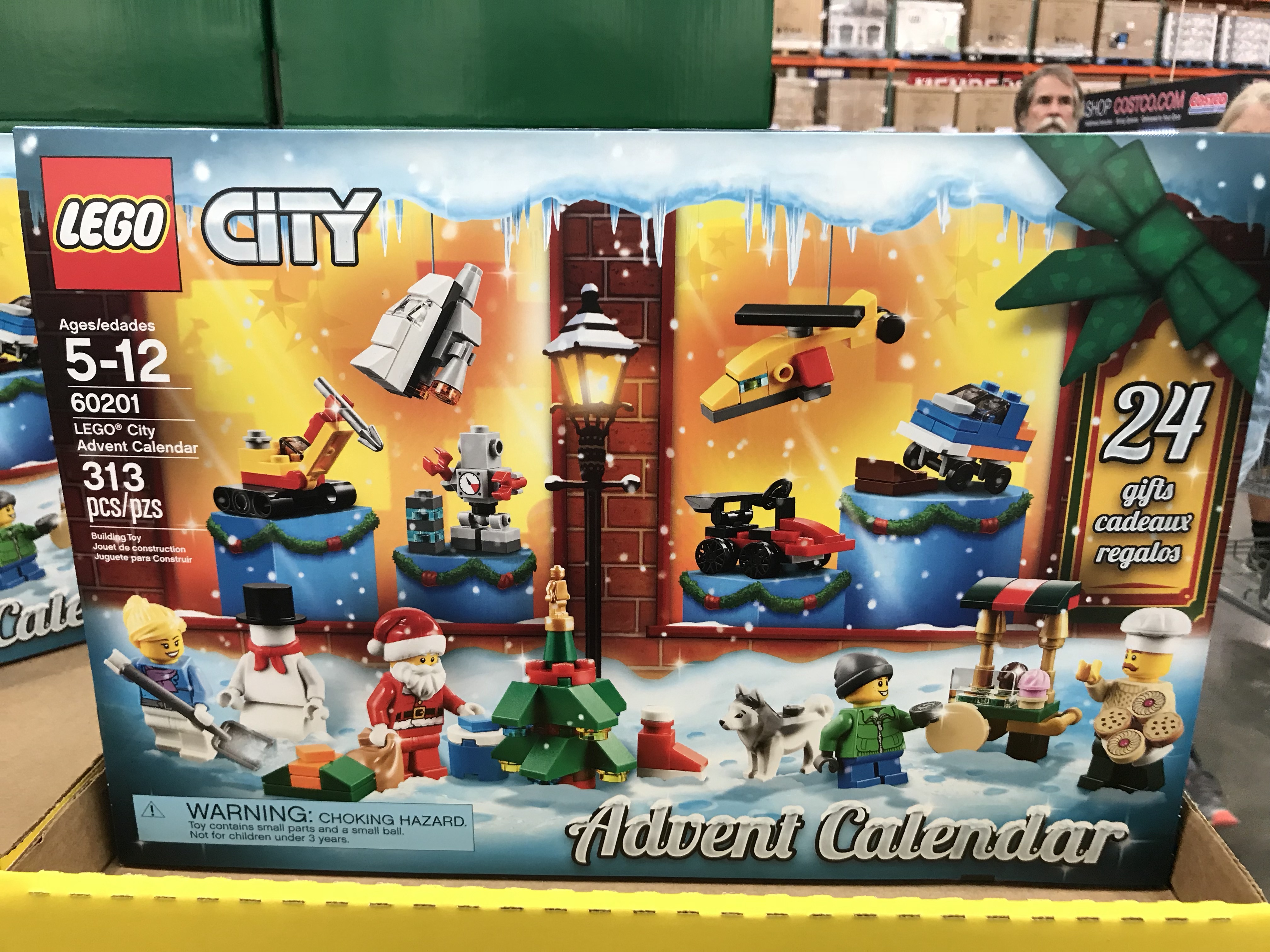 best 2018 advent calendars for kids and adults – LEGO City Advent Calendar