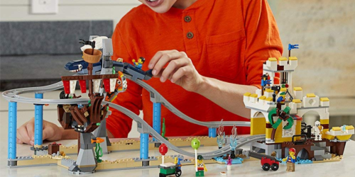LEGO Creator 3-in-1 Pirate Roller Coaster Only $55.99 Shipped (Regularly $90)