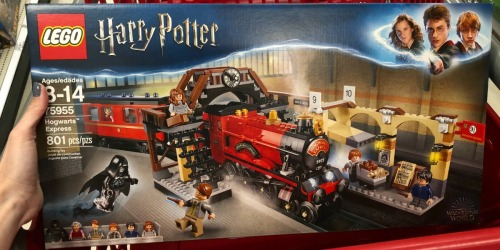 Free $10 Target Gift Card w/ $50+ LEGO Purchase = HOT Deals on Harry Potter Sets & More