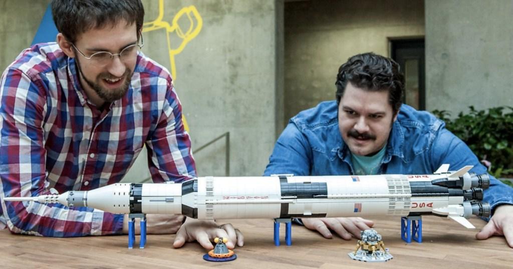 LEGO Ideas Nasa Apollo Saturn V 21309 Building Kit