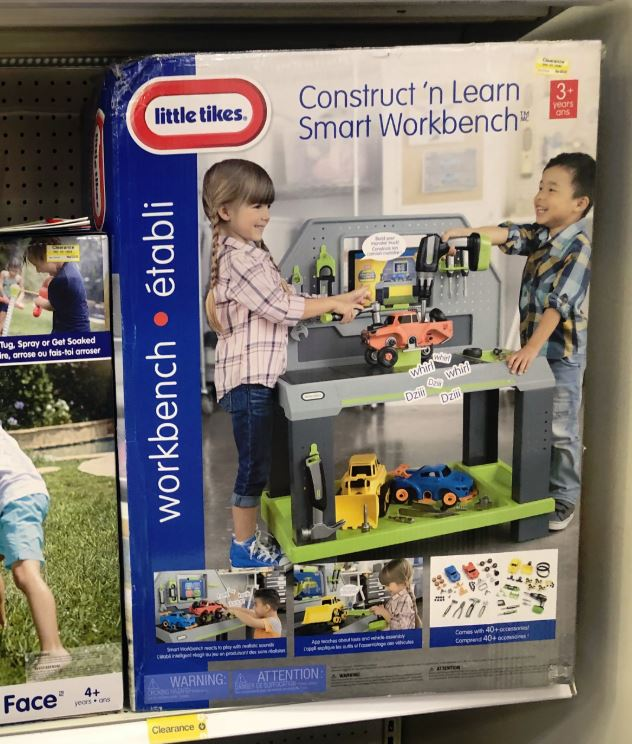 Strange Little Tikes Construct N Learn Smart Workbench Possibly Beatyapartments Chair Design Images Beatyapartmentscom