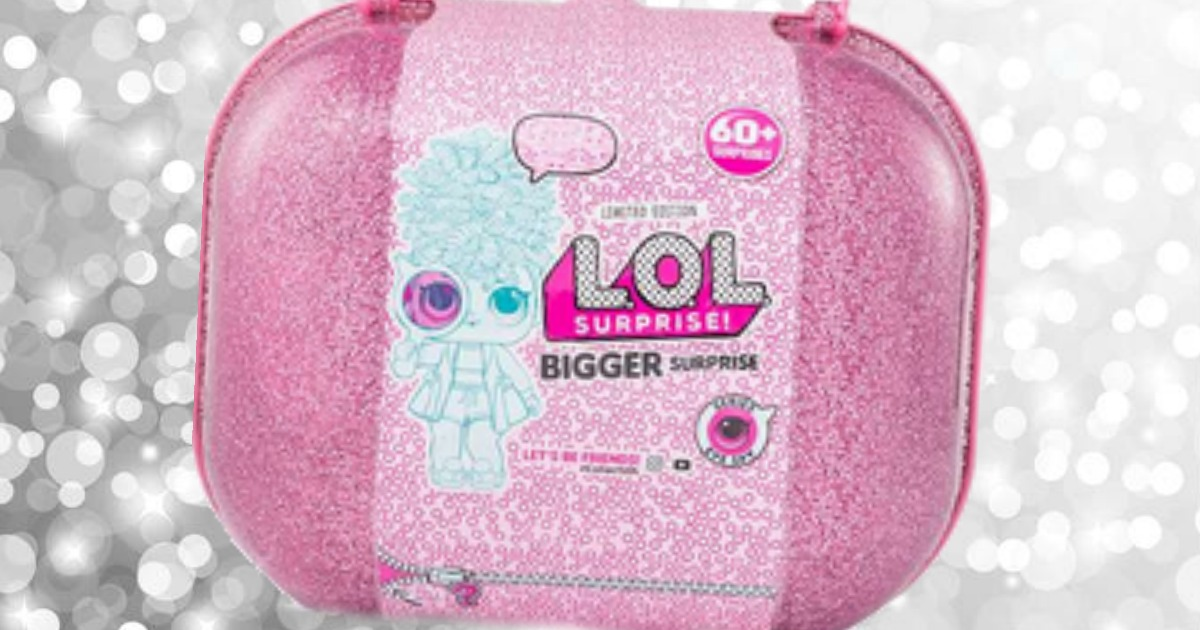 f0e8c175db0b Hurry over to Walmart.com where you can pre-order the Limited Edition  L.O.L. Surprise Bigger Surprise for  89.99 – order now and it should arrive  on October ...