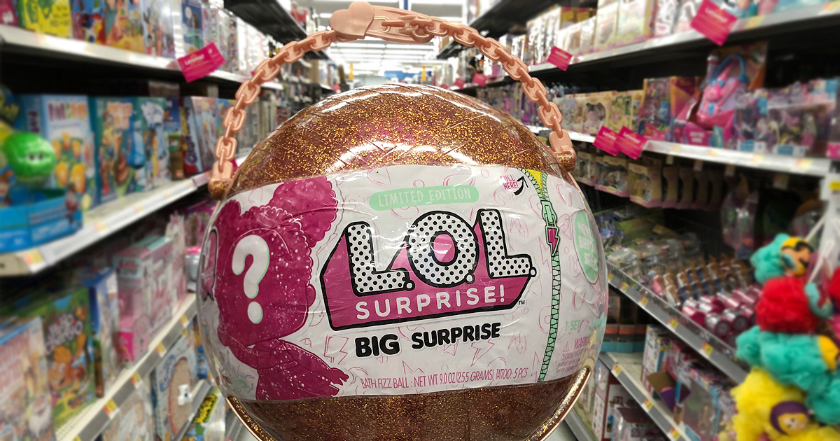 L O L Surprise Big Surprise Ball Possibly Only 49 At