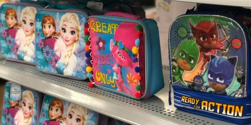 Kids Lunch Boxes Only $3 at Walmart (Paw Patrol, Frozen & More)