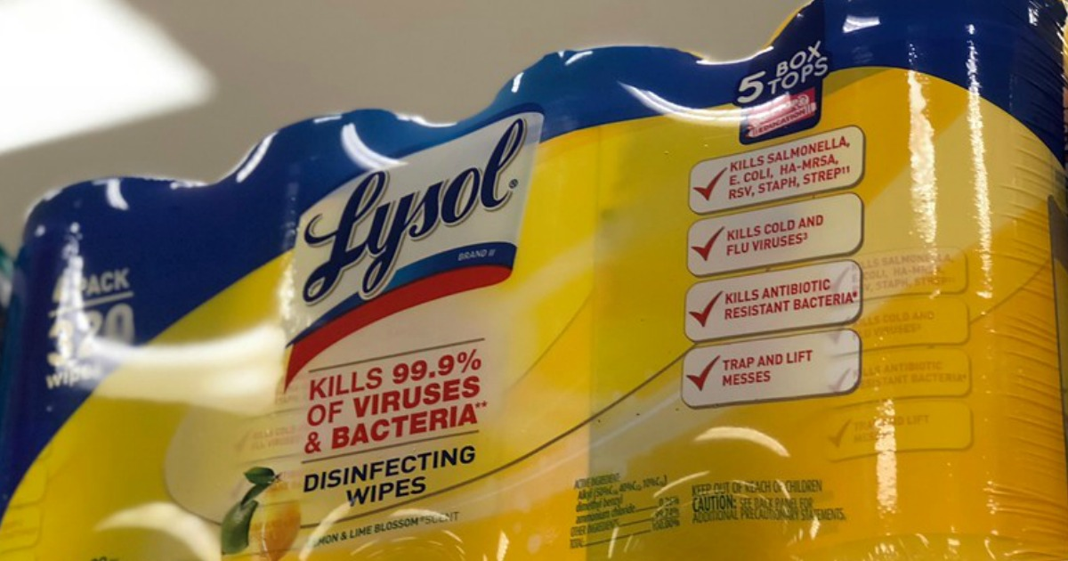 lysol value pack of wipes
