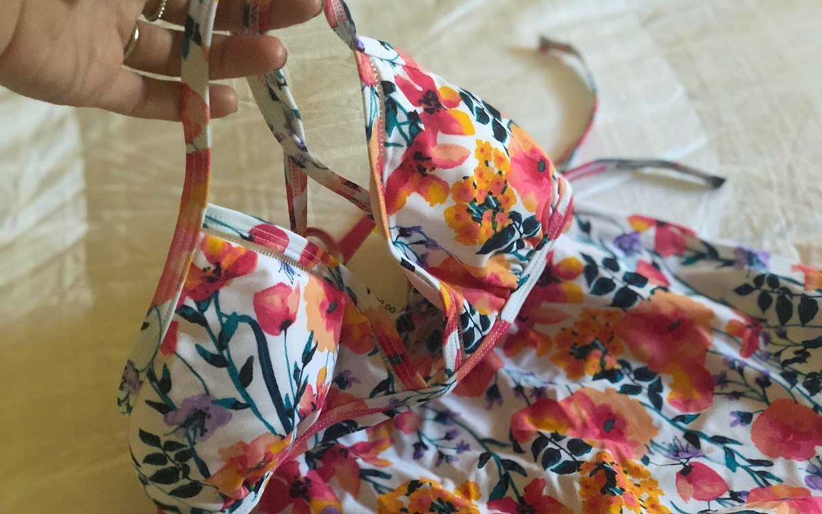 Keto snacks, activewear, and beauty samples deals! — macy's floral bathing suit 2 piece