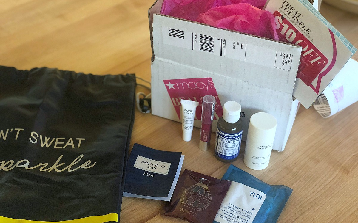 Keto snacks, activewear, and beauty samples deals! — macy's beauty box with beauty samples
