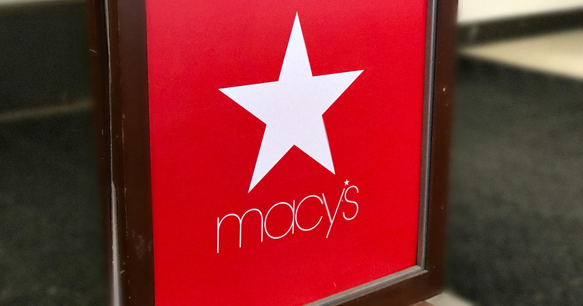 Macy's is hiring seasonal holiday employees - Macy's sign