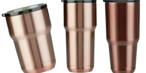Magellan Stainless-Steel Double-Wall Insulated Tumblers Only $5.99 (Just Like YETI)
