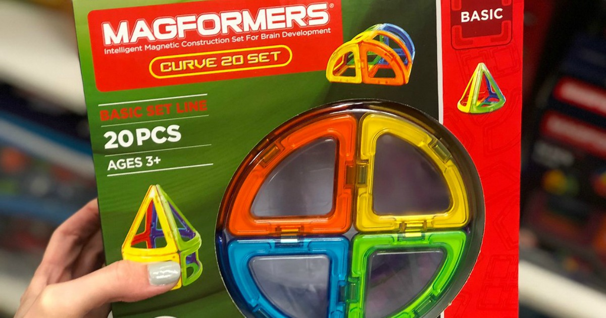 kohl's says no toy promo codes, but they promise competitive prices - shown here, Magofrmers Set