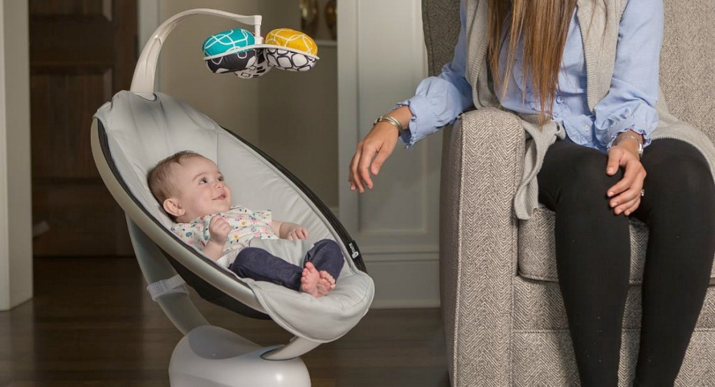 baby registry must haves — mamaroo motion swing