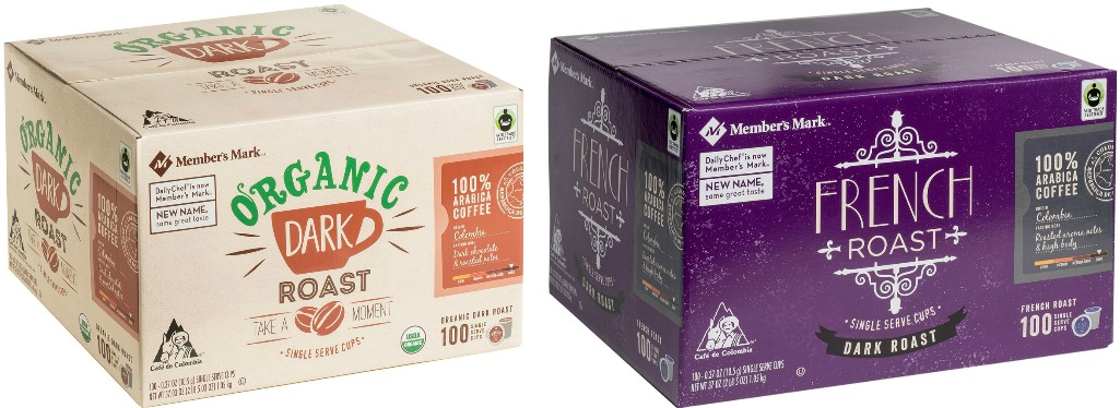 Sam S Club Member S Mark Organic K Cups 100 Count Only 32