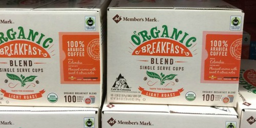 Sam's Club Member's Mark Organic K-Cups 100-Count Only $32.98 (Just 33¢ Per K-Cup)