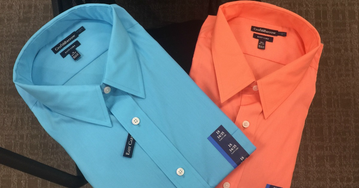 c71a6b4dc6 Up to 95% Off Men s Dress Shirts + Free Shipping for Kohl s Cardholders -  Hip2Save