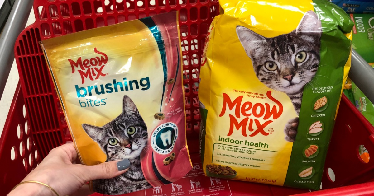image relating to Meow Mix Coupon Printable named Fresh new Meow Combine Cat Meals Snacks Discount codes \u003d Large Price savings at