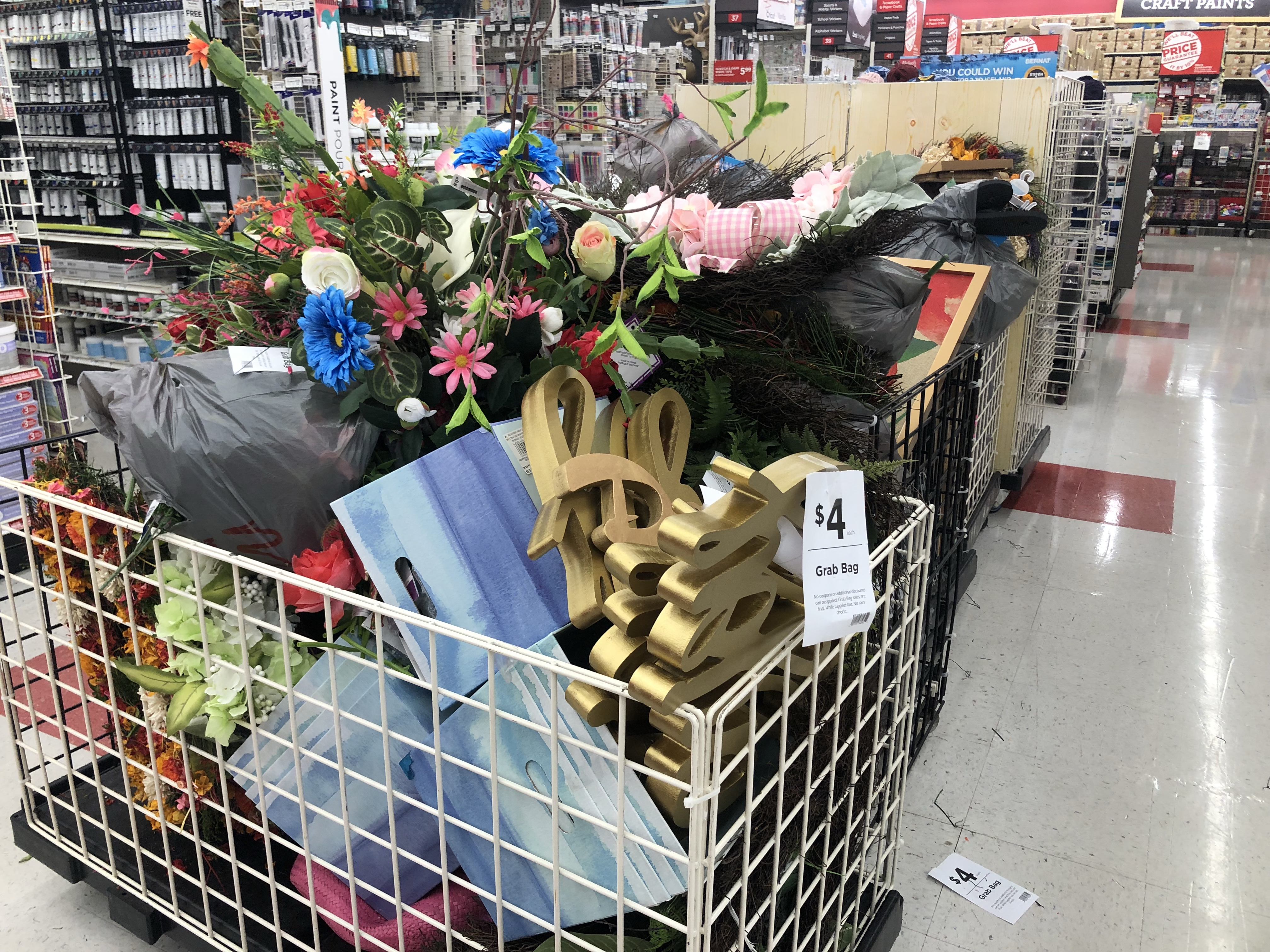 Possible 4 Grab Bags At Michaels Hip2save