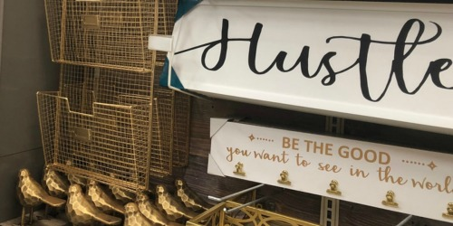 Over 60% Off Wall Decor Signs at Michaels