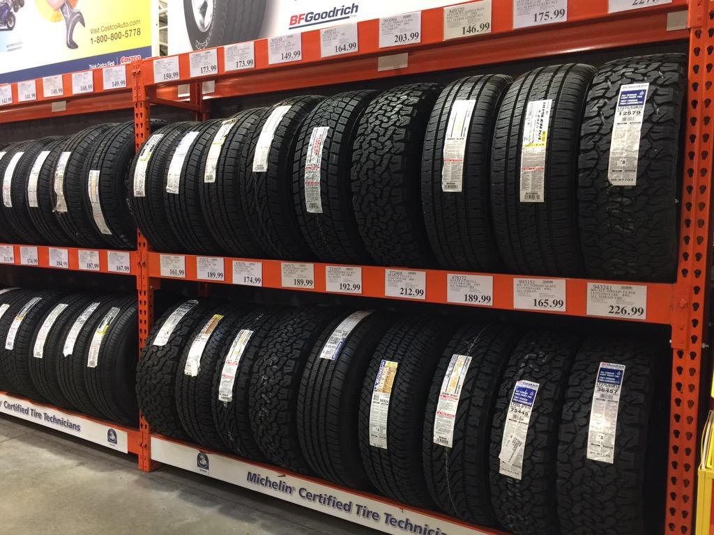 Michelin Tires at Costco
