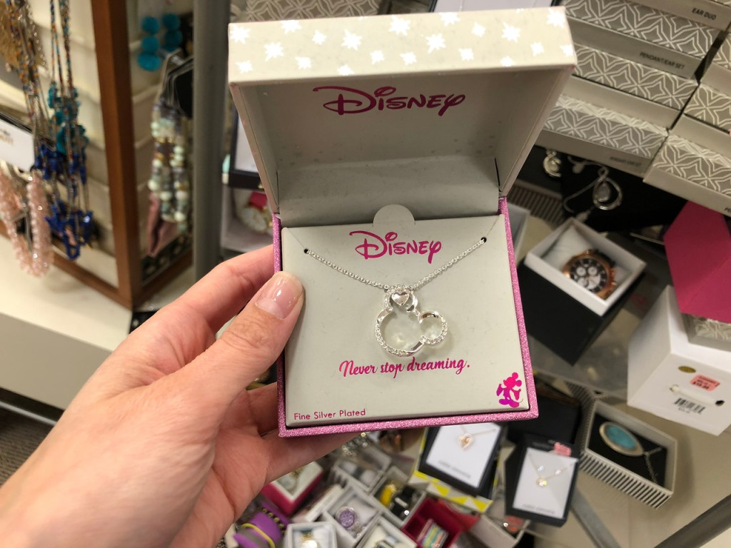 36deea060b72 Disney Mickey Circle Necklace  13.80 (regularly  60) Minus 50% off in-store  clearance. Final cost  6.90!