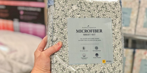 Kohl's: Microfiber Sheet Sets (ALL Sizes) Only $12.74 (Regularly Up to $70) + More