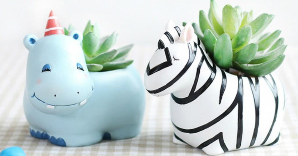 Mini Animal Planters