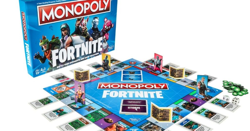 Monopoly Fortnite Edition Only 15 88 Regularly 20 Free 5
