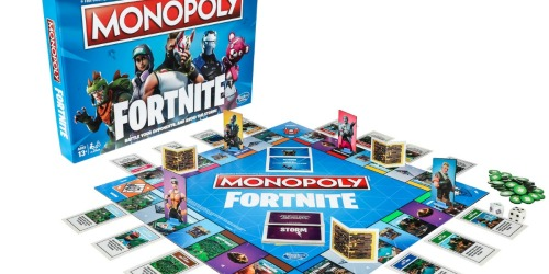 Pre-Order Monopoly Fortnite Edition Only $15.88 at Walmart.com (Regularly $20)