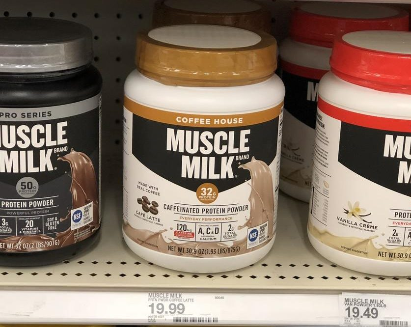 Muscle Milk Coffee House at Target