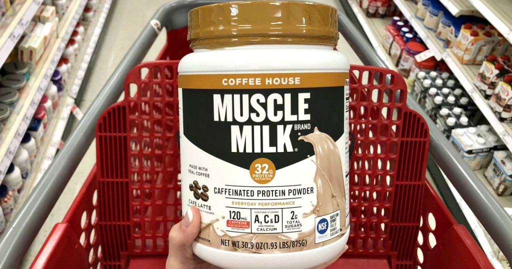 Muscle Milk Coffee House powder at Target