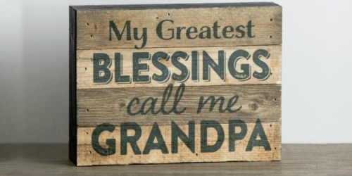 $10 Off ANY DaySpring Purchase = Great Deals On Wooden Plaques & More