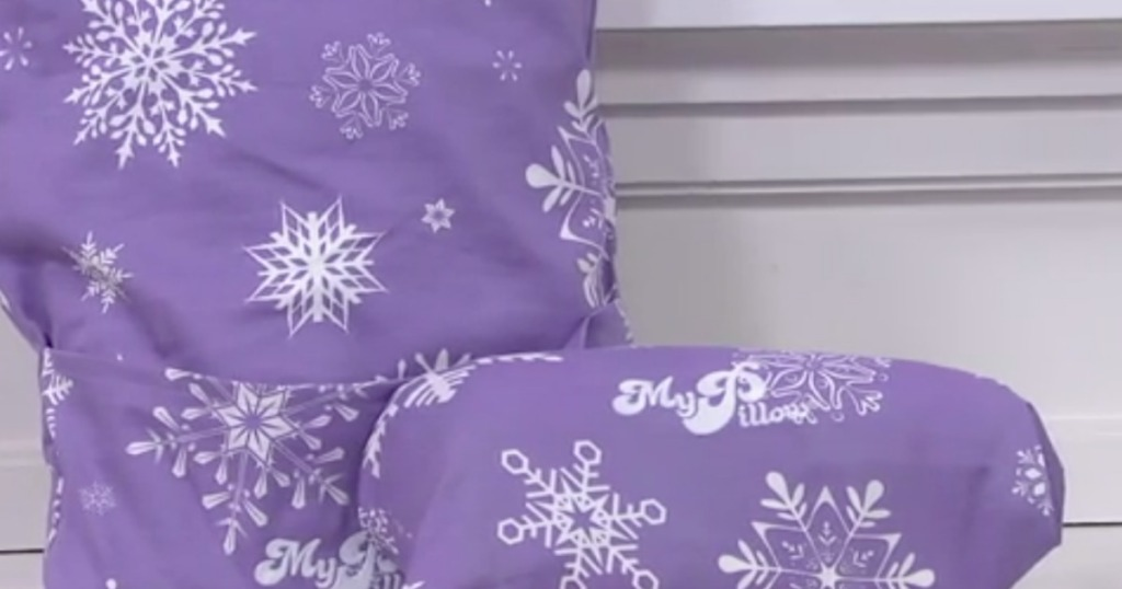 Qvc Mypillow Holiday Roll Amp Go Travel Pillows 2 Pack Just