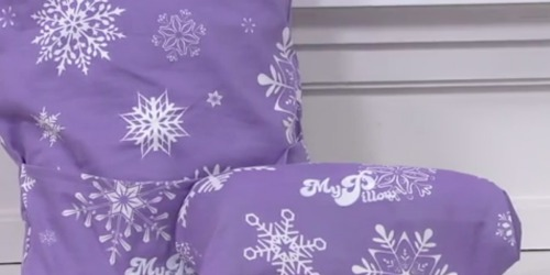 QVC: MyPillow Holiday Roll & Go Travel Pillows 2-Pack Just $29.86