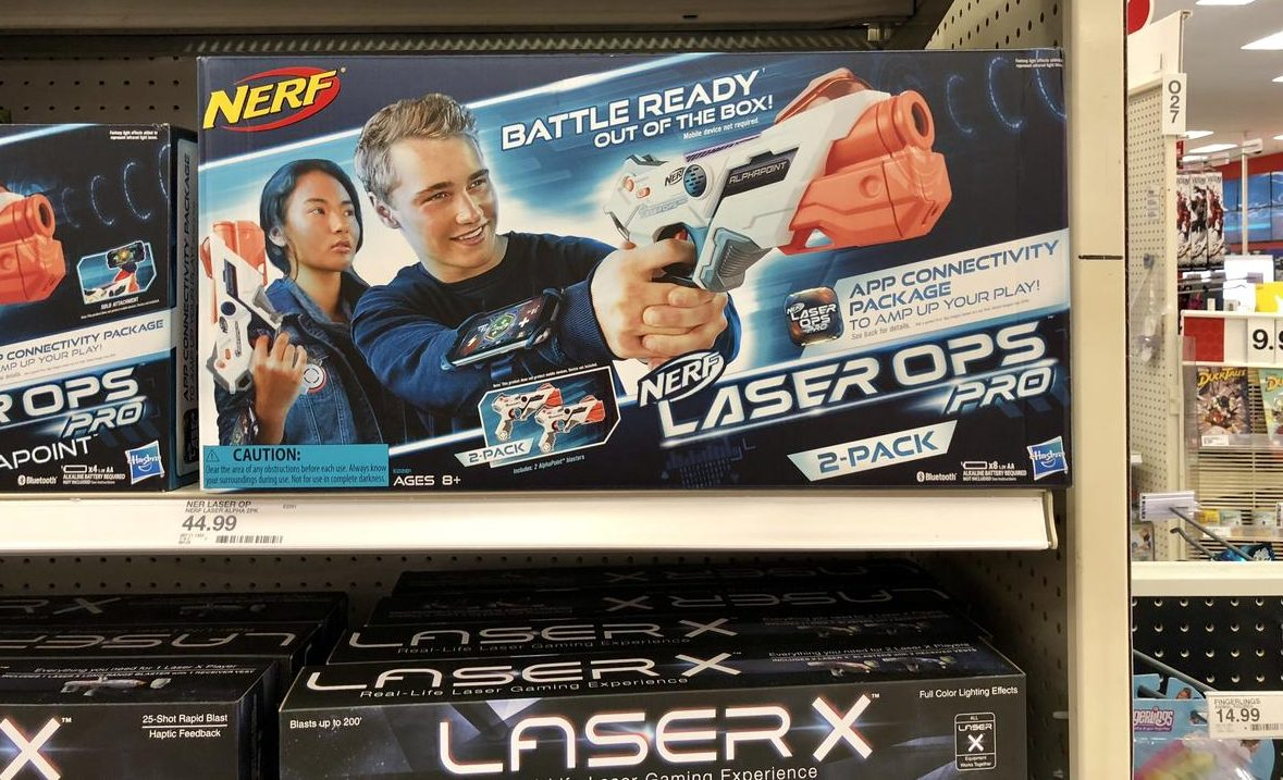 target top holiday toys 2018 – Nerf Laser Ops Pro at Target